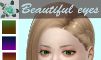 Beautiful eyes 眼珠mod 10色